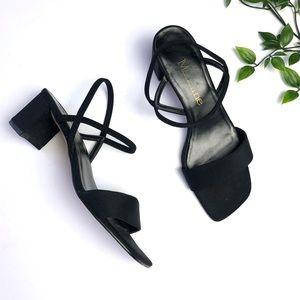 Vintage Madeline Strappy Block Heel